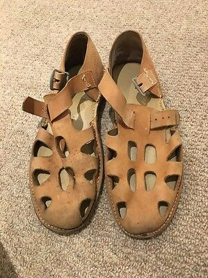 Leather Sandals Size 11