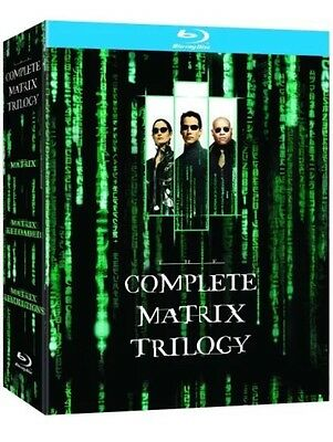 The Complete Matrix Trilogy  DVD Blu-Ray Box Set - New And Sealed