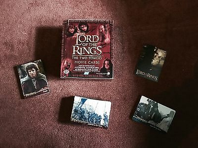 The Lord Of The Rings Two Towers Topps Movie Cards