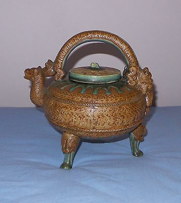 Old pottery chines teapot