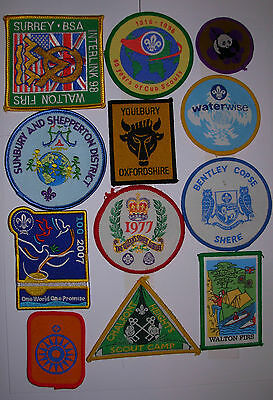 Cub and Scout Badges