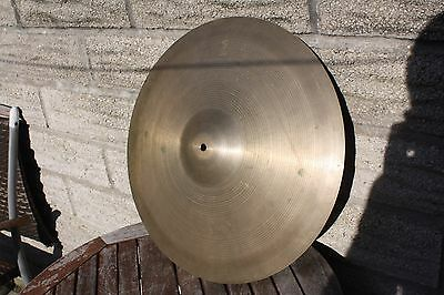 "Zildjian Vintage 1960's 20"" Ride Cymbal Some  Keyholing :-("