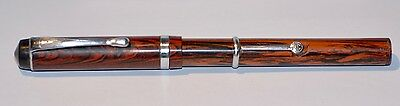 VINTAGE WORKING WOOD EFFECT CIRCA 1920s FOUNTAIN PEN