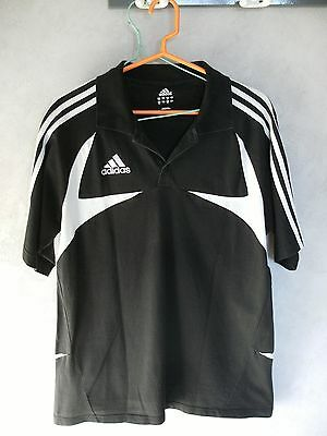 Polo Adidas Noir    F186     Taille  M/l
