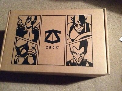 ZBOX Invasion box BRAND NEW & COMPLETE Large T-Shirt Aliens Dr Who Funko