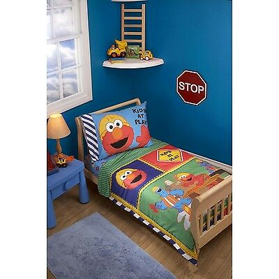 Sesame Street Construction Zone 4 Piece Toddler Set