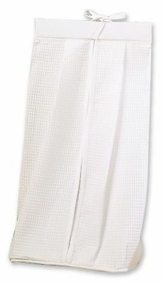 Trend Lab Pique Diaper Stacker  in White
