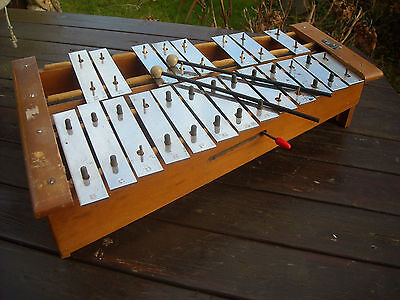 A Vintage Hohner Granton Chromatic Xylophone
