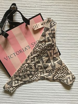 *BNWT* VICTORIA'S SECRET Knickers. Size S. Thong Panty. RRP £14.50.