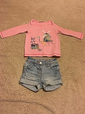 Baby Girl Outfit From Next Age 9-12 Month