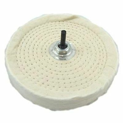 """Buffing Polishing Wheel Mop 6"""" For Drill Bench Grinder"""