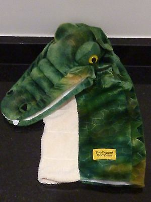 Puppet Company crocodile long sleeved glove puppet