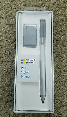 Microsoft Surface Pen for Surface 3, Surface Pro 3&4 & Surface Book, Silver