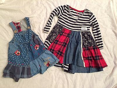 Two Girls Next Dresses 9-12 Months
