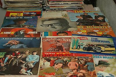 1950s 1960S LP 33RPM VINYL RECORD JOB LOT COLLECTION X100