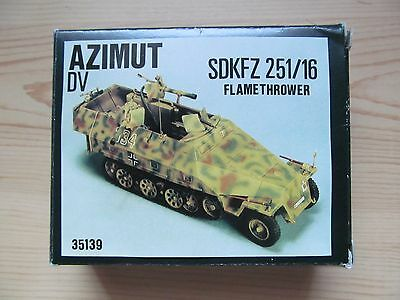 AZIMUT Sdkfz 251/16 Flamethrower conversion kit in 1:35 scale.