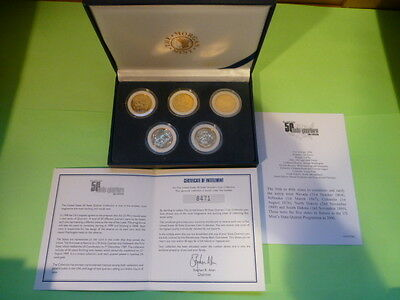 2006 USA 50 State Quarters Gold Plated Special Edition Coin Set
