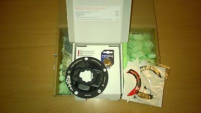 Brand new power2max Type S power meter for Rotor 3D24 cranks, 110mm BCD