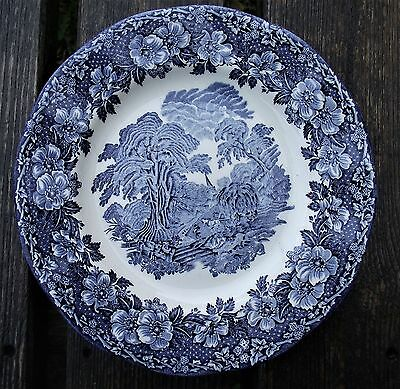 "Enoch Wedgwood (Tunstall) Ltd Side / Salad Plate ""WOODLAND"""