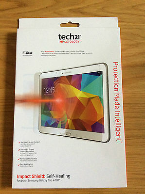 "Tech21 Impact Shield Screen Protection Samsung Galaxy Tab 4 - 10.1"" Self Heal"