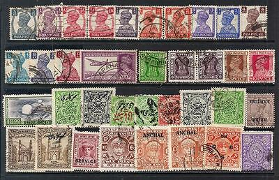 INDIA  & STATES-- small coll. used