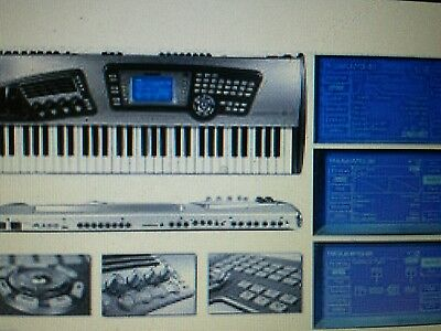 Alesis Fusion Workstation Keyboard Synth Sampler Song production