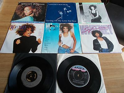 "Eight ""whitney Houston"" Vinyl 7""singles"