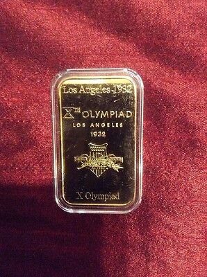 2012 london olympics Commemorative Ingot 25 Grams 24 Carat Gold Limited Edition