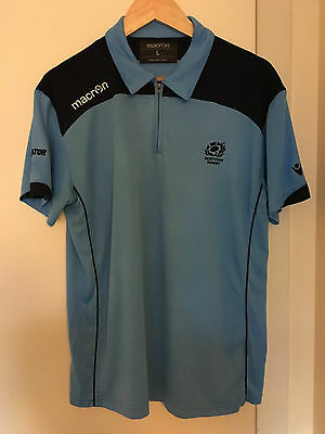 Official Macron Scotland International Rugby Union Shirt Size Adult Large