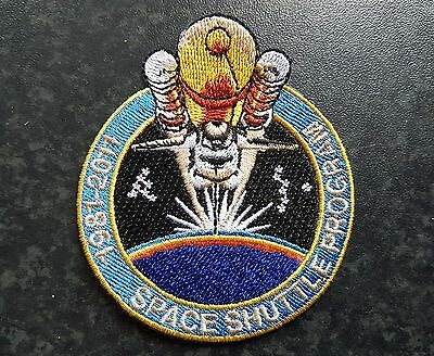 NASA Space Shuttle Commemorative Iron-on Patch