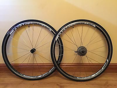 Fulcrum Racing S Four Road Bike Wheel Set Specialized Shimano Ultegra 11 Speed