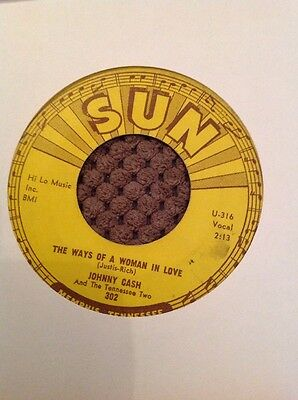 Johnny Cash The Ways Of A Woman In Love Sun 302