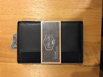 Threads Leather Travel Wallet