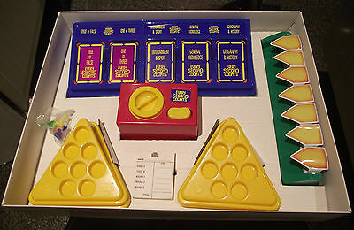 Every Second Counts TV Show Board Game  Boxed & Instructions  Vintage 1987