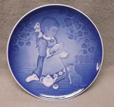 """The Magical Tea Party"" 1st issue of Children's Day collector plate 1985, B&G"