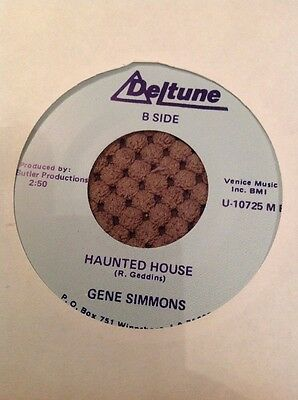 Gene Simmons Haunted House Double Sider