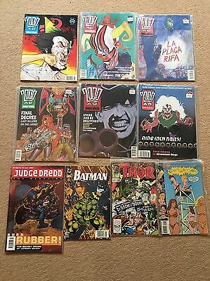 2000AD Comics Job lot.