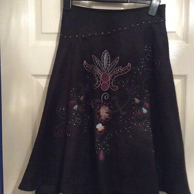 stark size 8 ,black skirt ,new with tags
