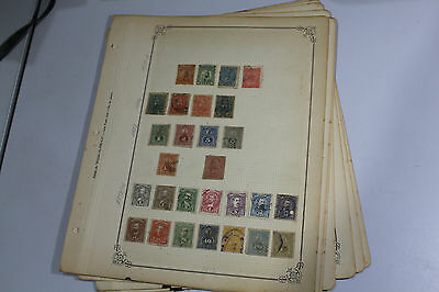 ⦿ Paraguay 1879-1936 Mint/Used Stamp Collection on Album Pages