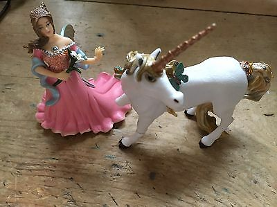 PAPO Figures Fairy Princess And Unicorn. Both New With Tags