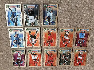 Match Attax  2007/2008 Club Captain 12 Cards Altogether Mint Condition
