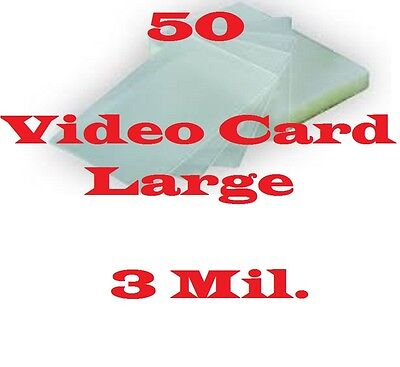 4 x 6 Laminating Pouches Sheets Photo Index Card, 3 mil (50) 4-1/4 x 6-1/4