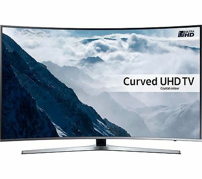 "SAMSUNG UE43KU6670 43"" Curved Smart 4K Ultra HD HDR  LED TV Built-in WiFi"