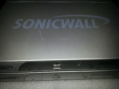 (Lot of 2pcs) Sonicwall NSA 240 Model APL19-05C Firewall Network Security Applia