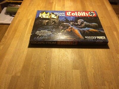 Original Vintage 1973 Escape from Colditz Board Game by Parker