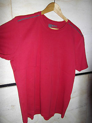 T shirt homme OWK taille XL rouge
