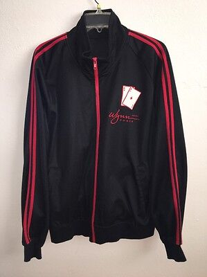 Wynn Macau Hotel And Casino Poker Jacket MENS Large Rare Exclusive