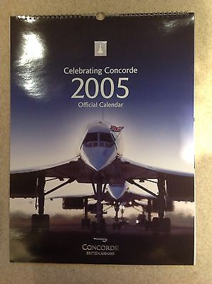 CONCORDE calendar with amazing pictures of Concorde