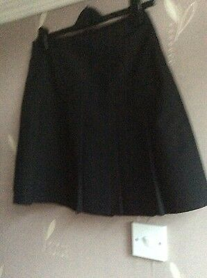 Marks and spencer Girls Black School Skirt Age 15 years from M&S BNWT
