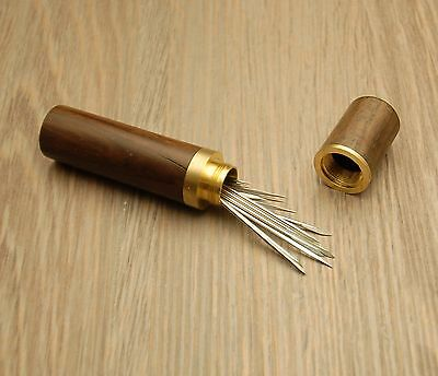14 pcs Leather Hand Sewing Needles,very sharp, wedge shaped .Russian
